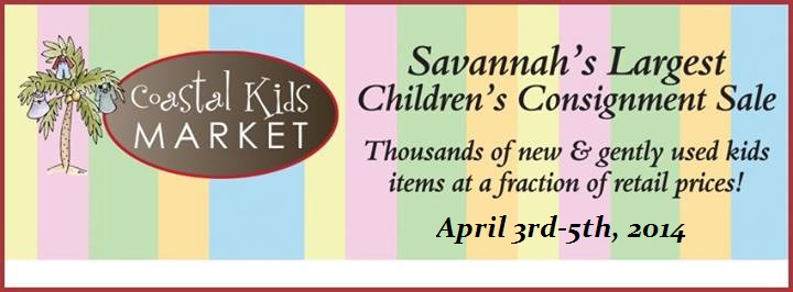Spring 2014 Coastal Kids Market consignment sale Pooler