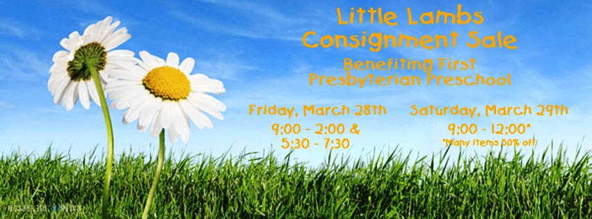 Spring children's consignment sale Savannah Little Lambs