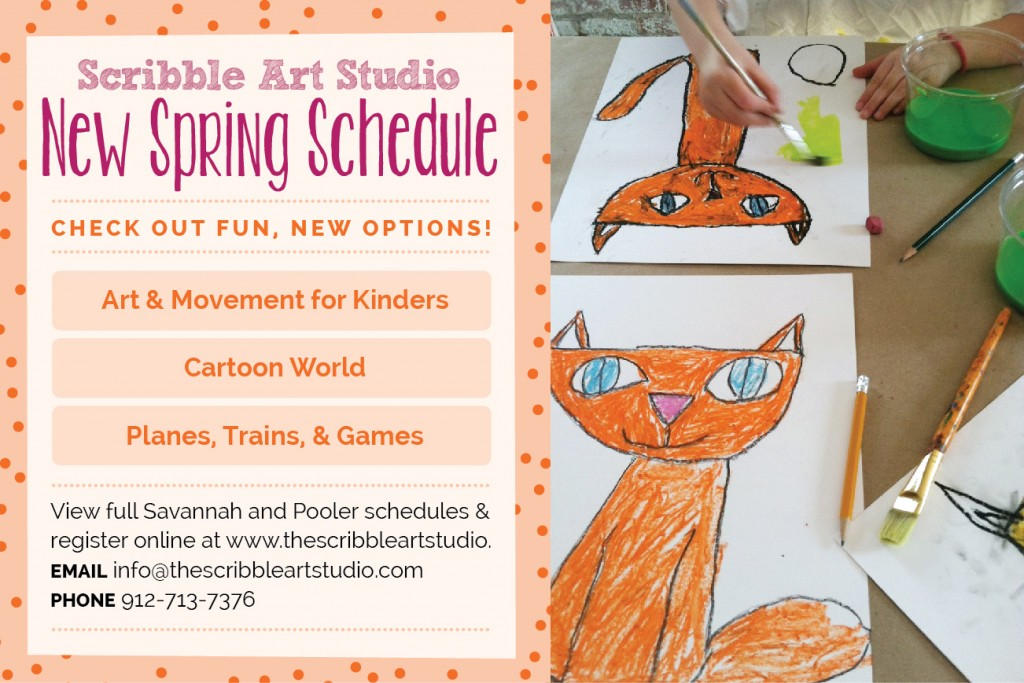 Scribble Spring 2014 classes