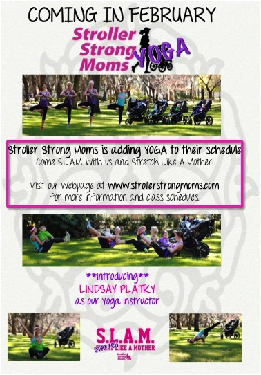 Savannah Yoga Classes with Stroller Strong Moms