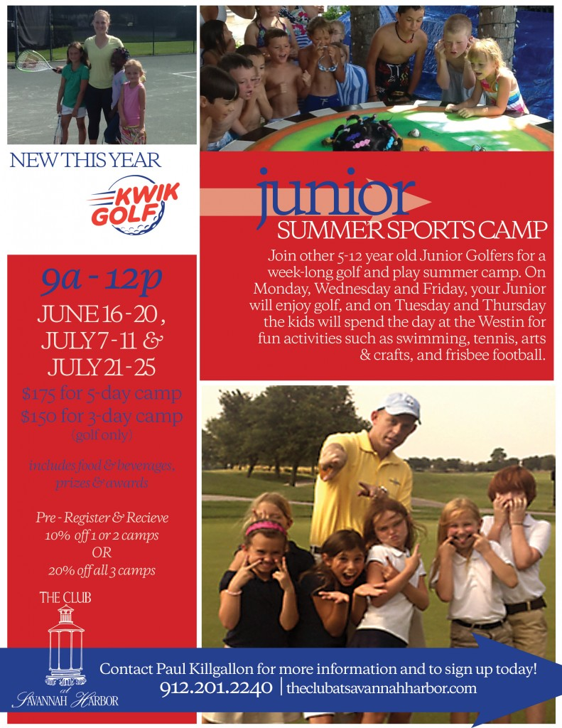 Junior Golf Summer Camps at Westin