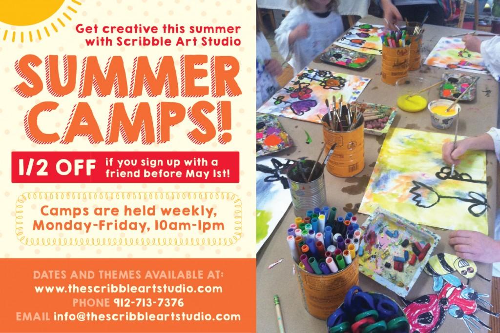 art camps in Savannah & Pooler 2014