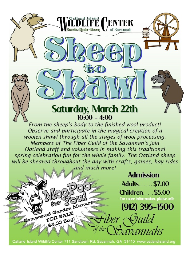 Sheep to Shawl 2014