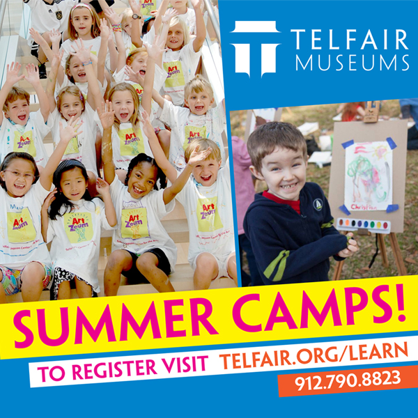 Telfair museums Jepson Center Summer Camps 2014 Savannah