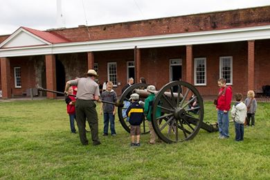 Junior Ranger Day Fort Pulaski Savannah
