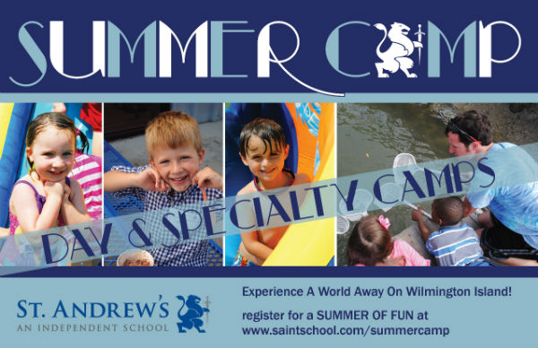 St. Andrew's Savannah Summer Camps 2015 Wilmington Is.