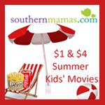 $1 Summer Kids Movies in Savannah 2015