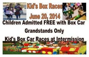 Kids Boxcar races Pooler