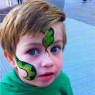face painting, glitter tattoos in Savannah, Richmond Hill