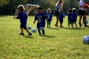 Early Goals Toddler Soccer Savannah Fall 2014