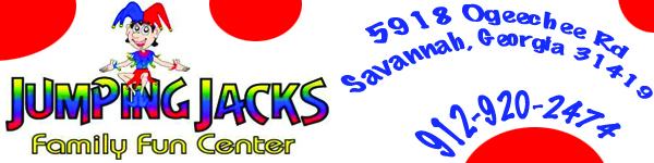 Jumping Jacks indoor playcenter Savannah