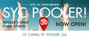 Free yoga at Savannah Yoga Center Pooler location