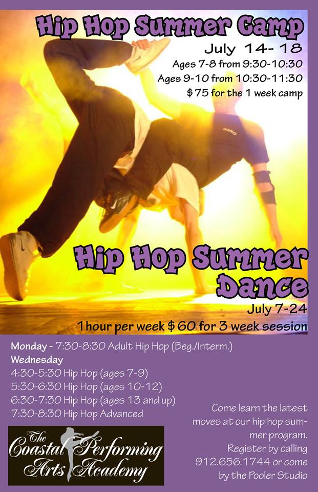 Hip Hop Summer Dance Camp Pooler