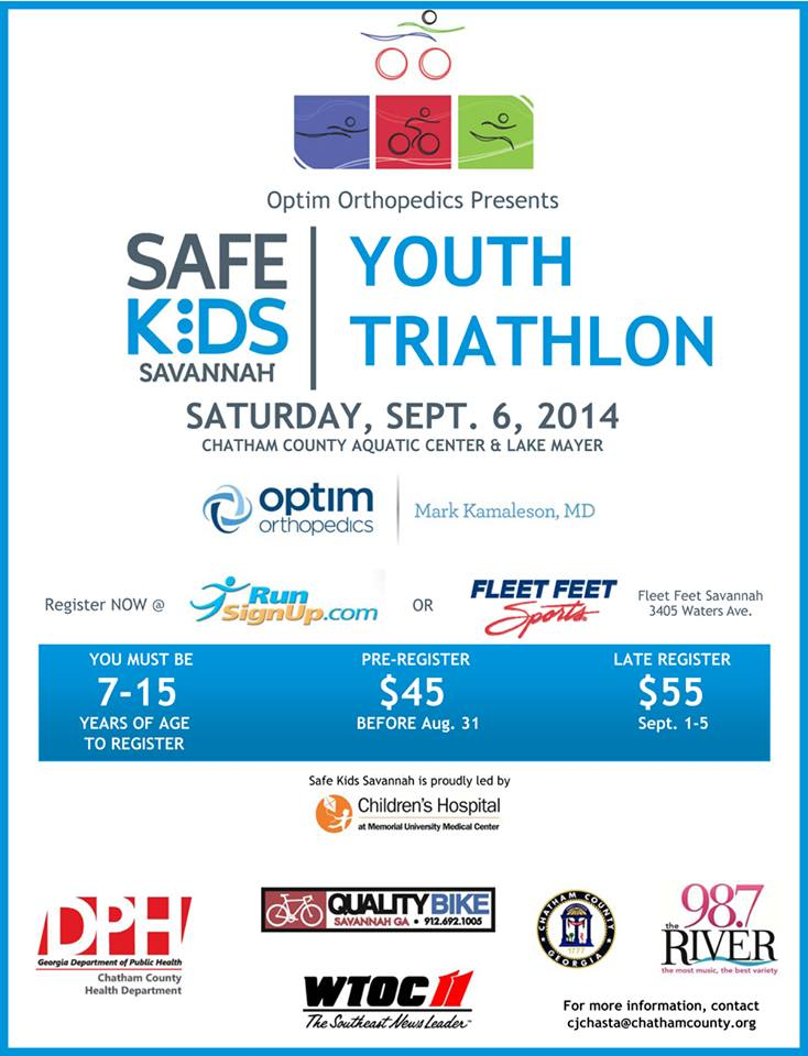 Savannah Kids Triathlon 2014