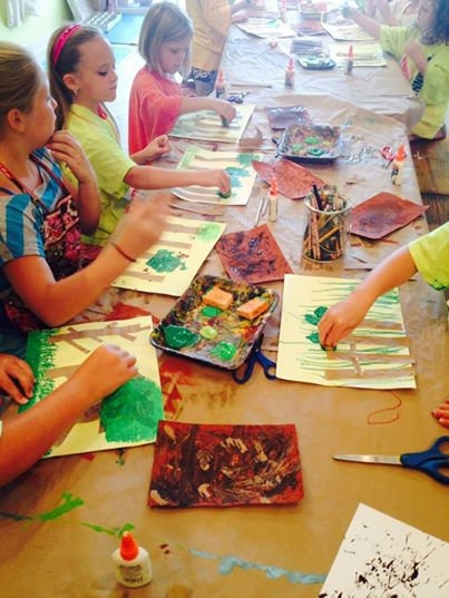 discount on Pooler art summer camps Scribble Art Studio