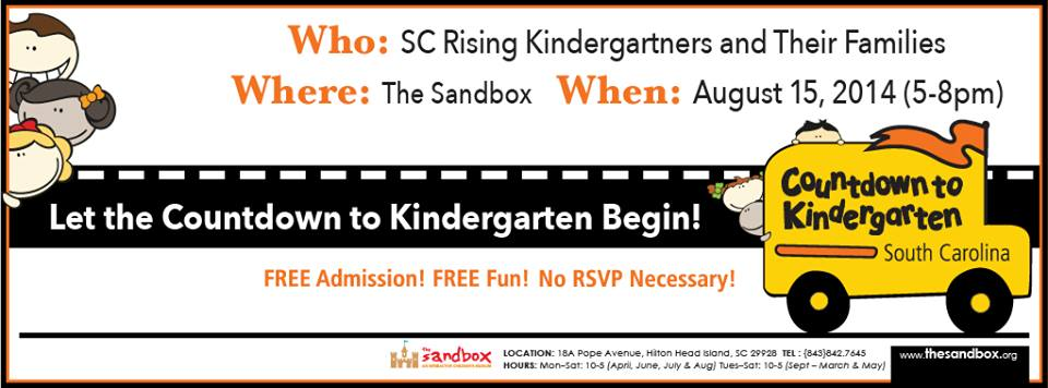 Free admission for rising kindergartners Sandbox Children's Museum
