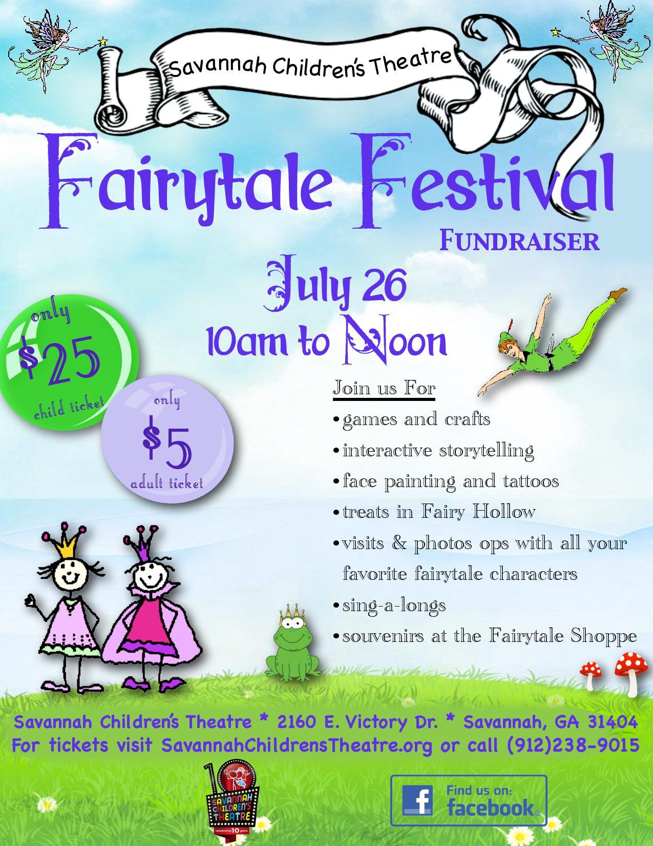 Fairtytale Festival princess party Savannah