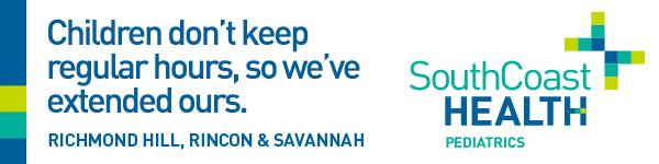 SouthCoast Health Pediatrics Savannah Pediatricians