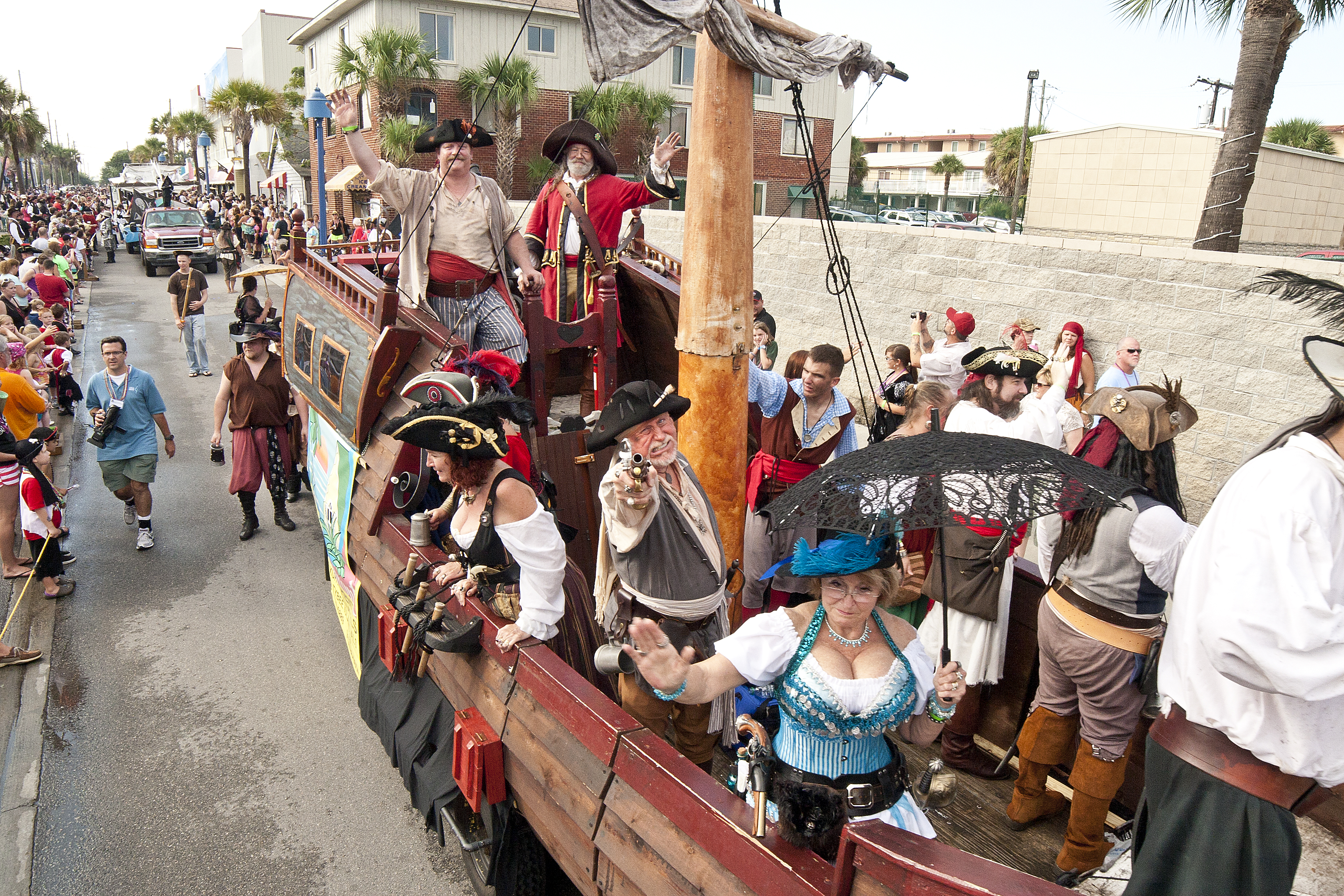 Tybee Pirate Parade Festival