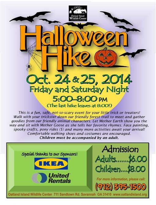 Halloween Fall 2014 kids events Savannah