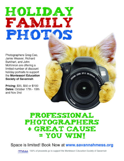 affordable holiday portrait sessions Savannah Family Photographers