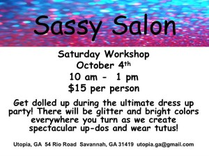 Sassy Salon Day Savannah Kids' Events