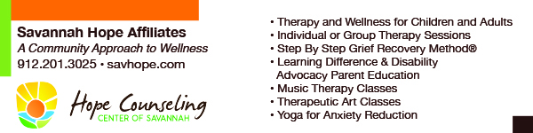 Therapeutic Art, Music Therapy Classes, Yoga for Anxiety  at Savannah Hope Affiliates