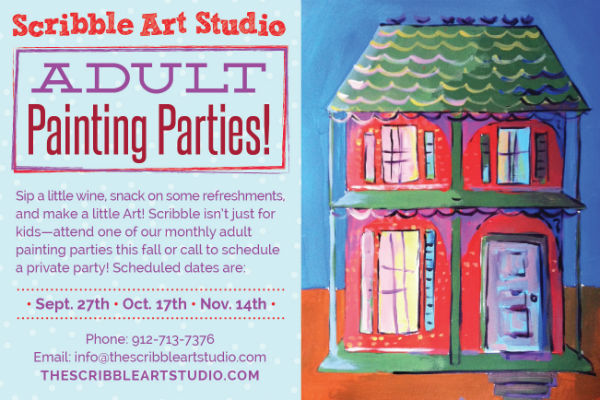 Adult Painting Parties Scribble Girls Night Out
