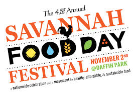 FREE Fall Festivals Savannah Food Day Festival 2014