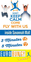 kids bungy savannah Eurobungy Savannah Mall