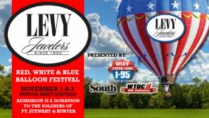 Red White & Blue Hot Air Balloon Festival 2014 Savannah Hunter Army Airfield