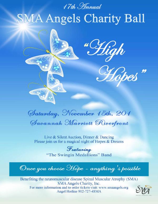 SMA Angels Charity Ball Savannah 2014