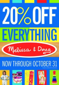 Melissa & Doug sale 2014 Barnett Educational Supplies Savannah