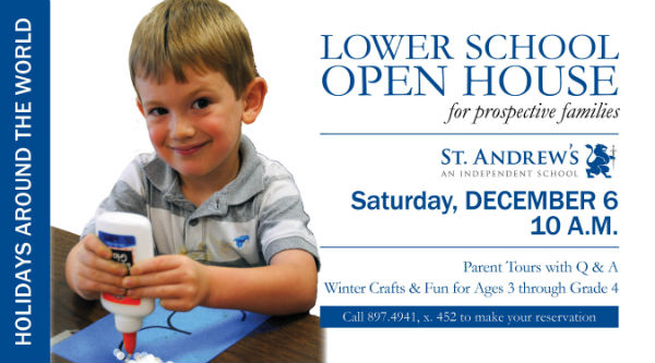 St. Andrew's School Savannah private schools open house