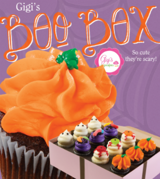 Halloween Boo Box Gigi's Cupcakes Savannah