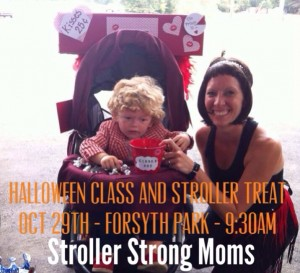 Stroller moms fitness classes Savannah Richmond Hill Pooler