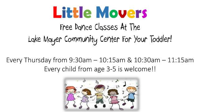 free toddler dance class Savannah
