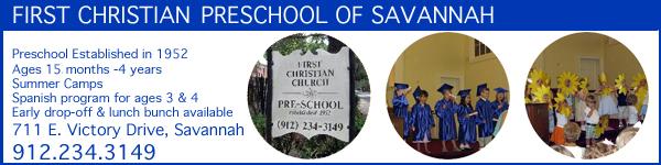 Savannah preschools, pre-K