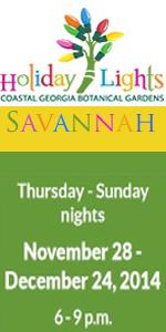 Southern Mamas Blog Archive 2014 December Nights Holiday Lights At Coastal Georgia