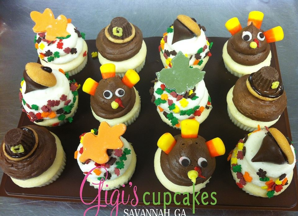 Thanksgiving minis Gigi's Cupcakes Savannah
