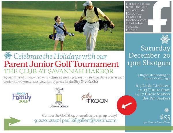 Junior Parent Holidays 2014 Golf Tournament Savannah