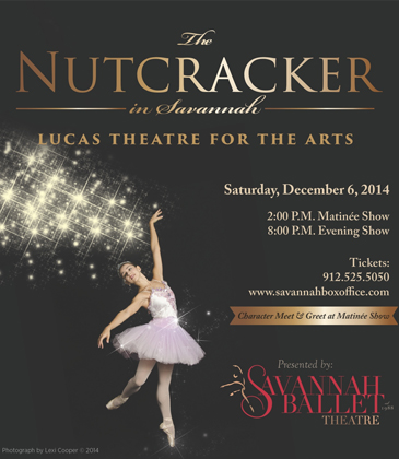 Holiday Children Family Events in Savannah Nutcracker