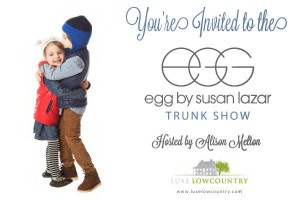 egg trunk show by Susan Lazar Oldfield Okatie