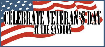 Veterans Day Activities at Sandbox Children Museum Hilton Head
