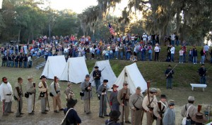 Fort McAllister 150th Anniversary Winter Muster End of Sherman's March to the Sea