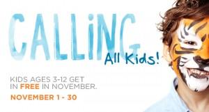 Kids Free November in Jacksonville at Jacksonville Zoo, MOSH