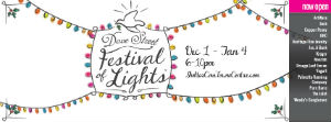 Dove Festival of Lights Shelter Cove  Towne Center Hilton Head