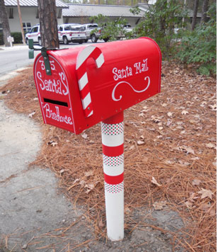 letters to santa mailboxes in bluffton sc 2014