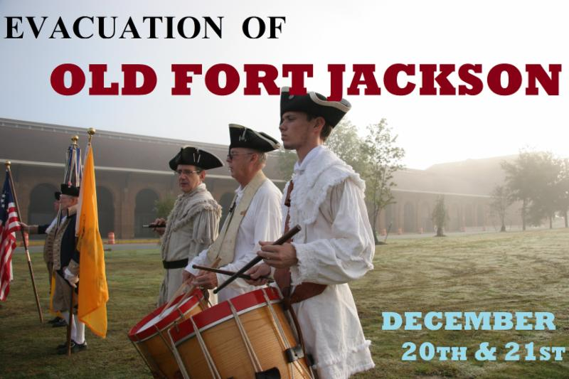 Civil War Demonstrations at Old Fort Jackson Savannah