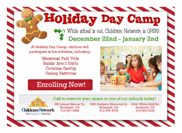 Savannah Holiday Day Camp Winter Camps Childcare Network